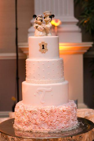 Mickey and Minnie wedding cake topper
