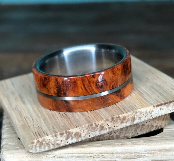 Guy Makes Ring Out Of Meteorite