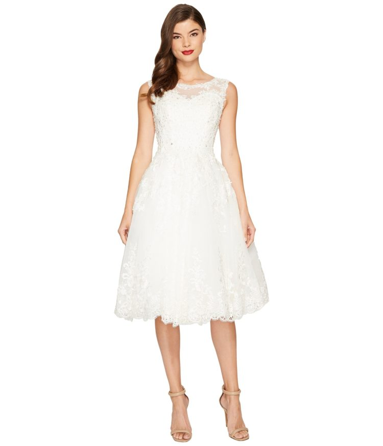 vintage lace tulle bridal dress from Zappos