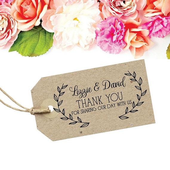 Wedding Thank You Stamp