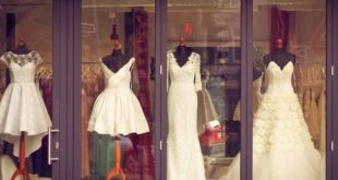 affordable wedding dress shop example