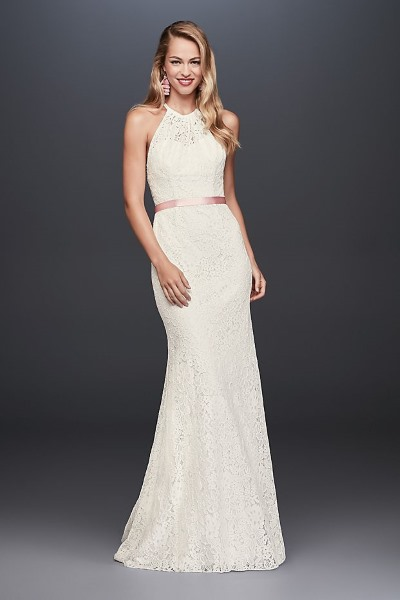 5 wedding dresses under 1000 that should cost way more for Simple form fitting wedding dresses