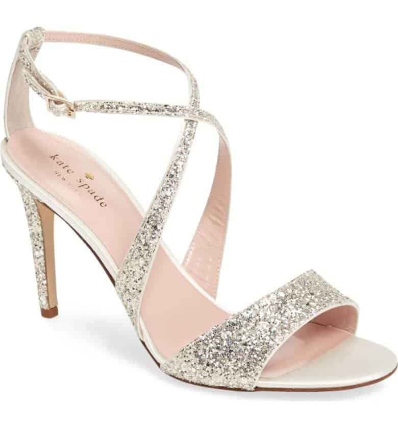 Kate spade wedding shoes playful sophistication felicity glitter sandal kate spade junglespirit Images