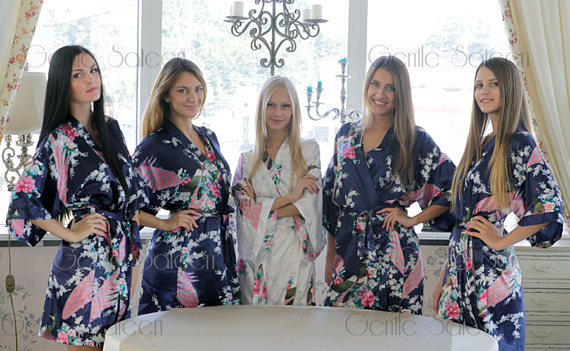 gentle sateen silk robes