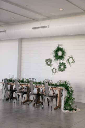 industrial space for styled shoot