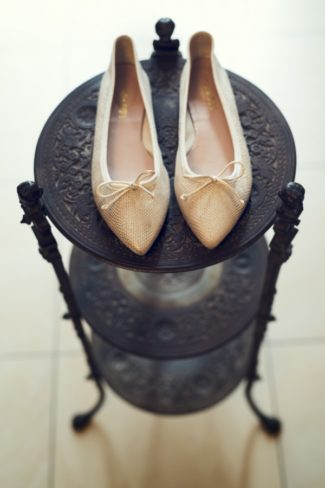 pointed bridal shoes