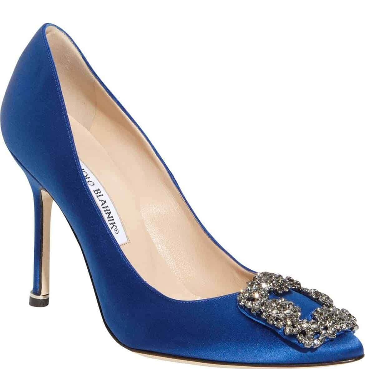 Manolo blahnik wedding shoes stylin on your big day for Shoe designer manolo blahnik
