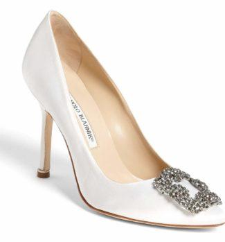 Manolo Blahnik 'Hangisi' Jewel Pump 4 inch heel