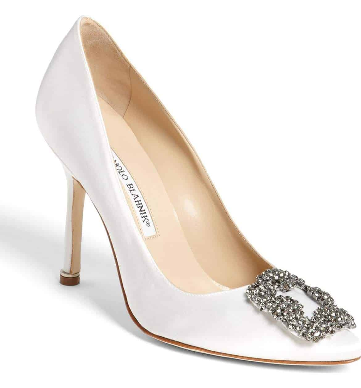 Manolo blahnik wedding shoes images wedding dress for Shoe designer manolo blahnik