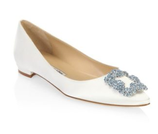 73ce33689cc6b Manolo Blahnik Wedding Shoes: Stylin on Your Big Day!