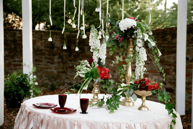 The Barn by Two Brothers styled shoot table