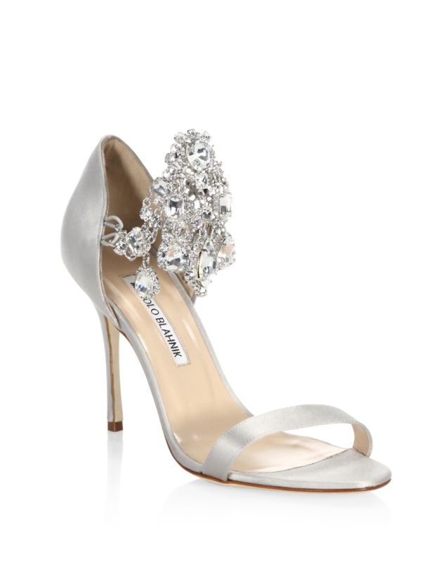 Manolo Blahnik Wedding Shoes: Stylin on Your Big Day!