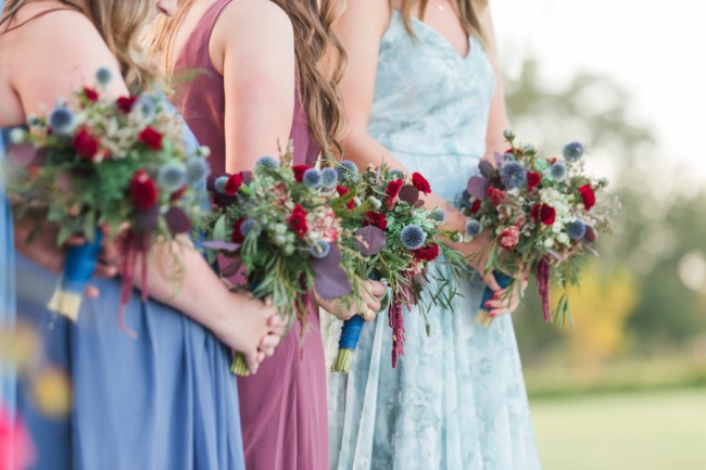 bridesmaids closeup