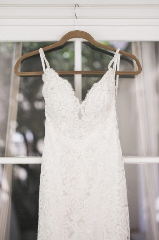 gown hanging