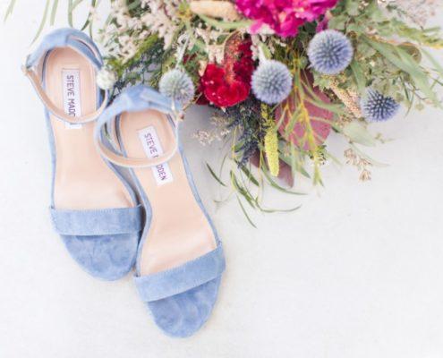 light blue Steve Madden heels