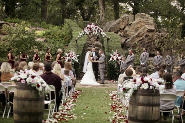 simple wedding elegance at an urban garden oklahoma love lavender