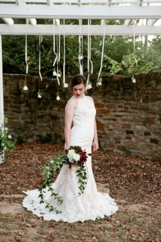 styled bride