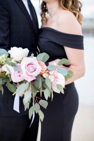3rd year anniversary shoot bouquet