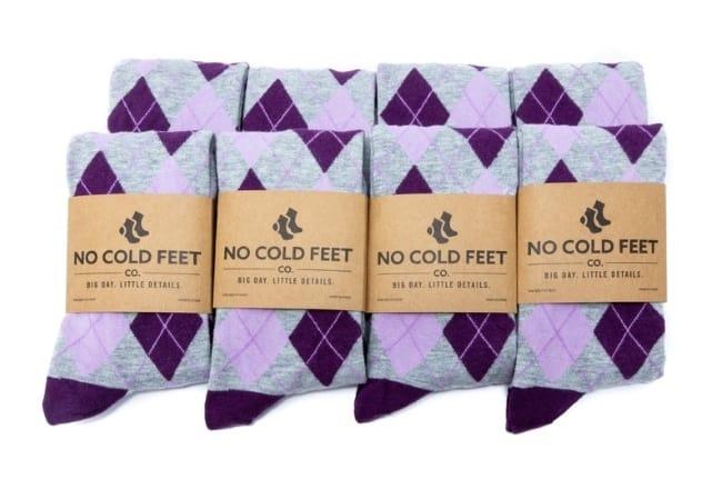 Argyle Socks for a groomsmen gift
