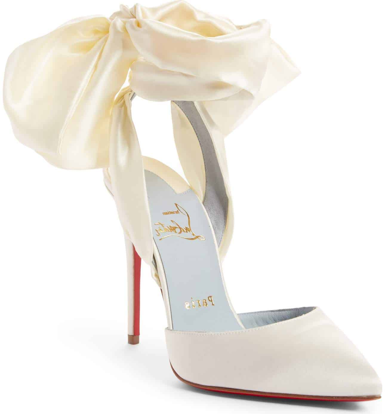 12bb740e1265 Christian Louboutin Wedding Shoes  Luscious Red Sole Designs