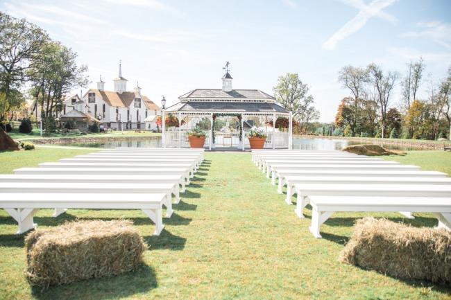 Ironstone Ranch outdoor wedding ceremony site
