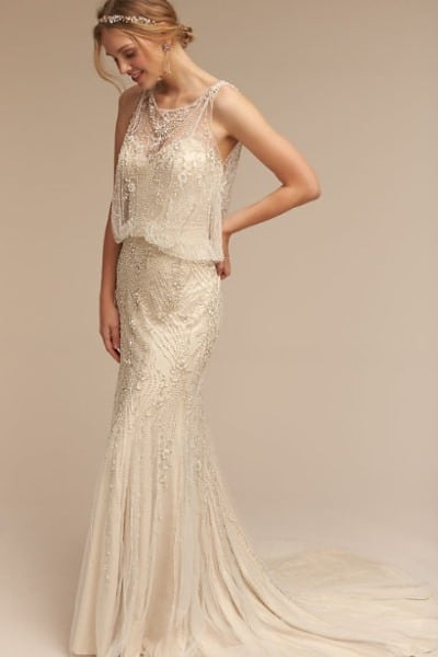 Jacinda art deco gown BHLDN
