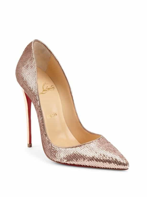 best sneakers 29490 d4688 Christian Louboutin Wedding Shoes: Luscious Red Sole Designs