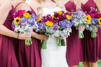 2590d3d9790 How to Match Flowers with Wedding Attire