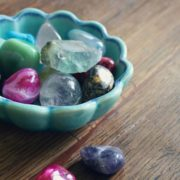 diamond alternative gemstones in bowl – featured