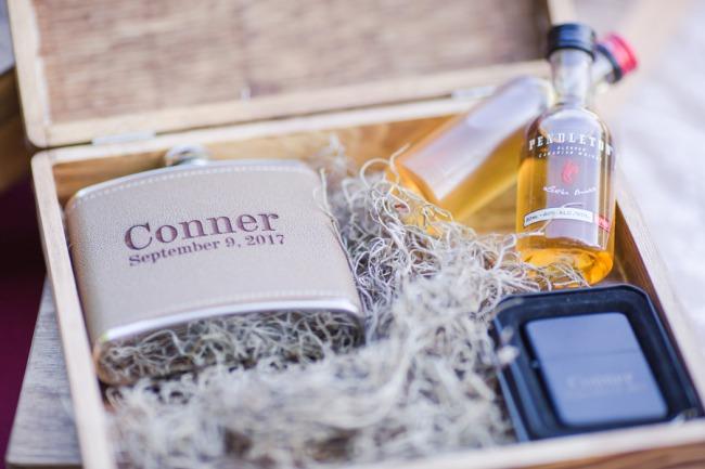 gift box for groom