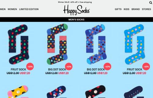 happy socks sale items