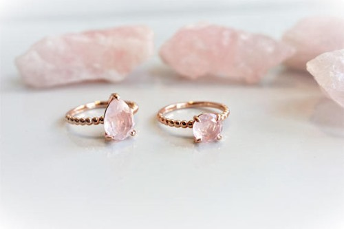 rings rose crystal instagram credit ring teresa quartz palmer wedding s
