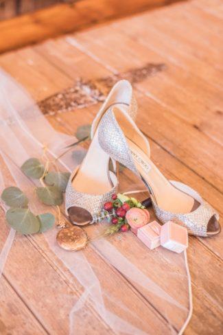 sparkly jimmy choo bridal heels
