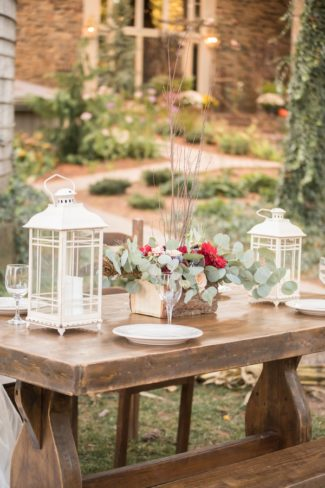styled shoot outdoor decor