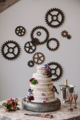 cogs and wedding cake