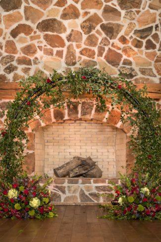 giant greenery wreath