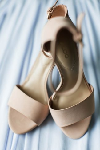 nude color aldo bridal shoes