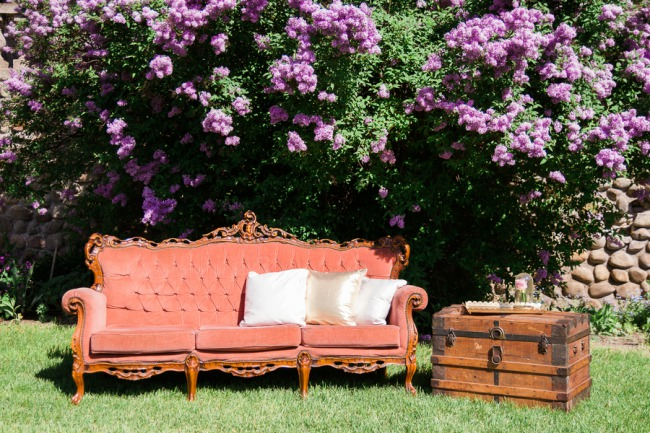 outdoor vintage couch