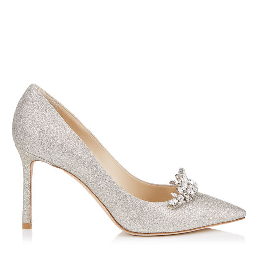 romy 85 pointy toe pump bridal shoe