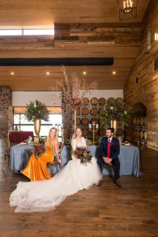 styled shoot at The Vine in Texas