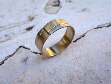 badc0dabe1d598 54 Stylish + Unique Mens Wedding Bands for 2019