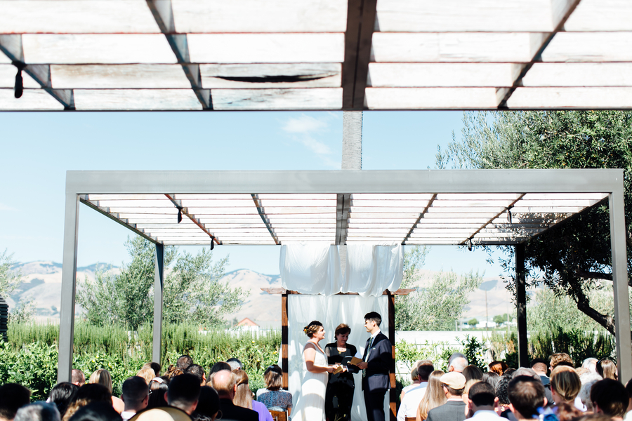 Modern Minimalist Biddle Ranch Vineyard Wedding