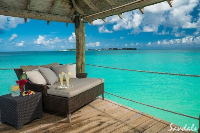 Sandals Bahamian winter honeymoon
