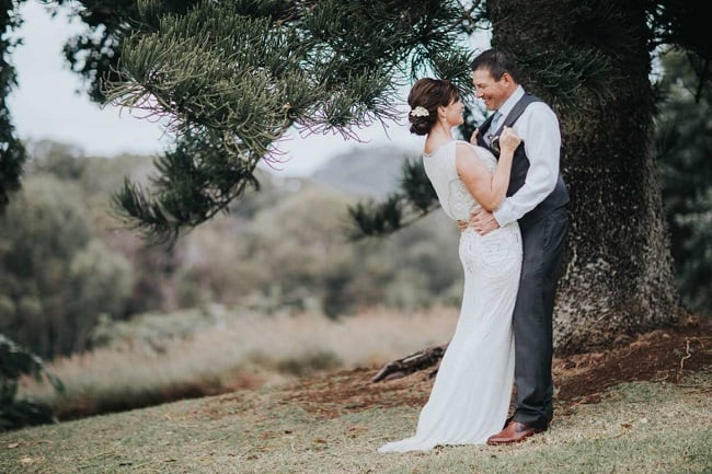 Hawaiian Ranch Wedding feature