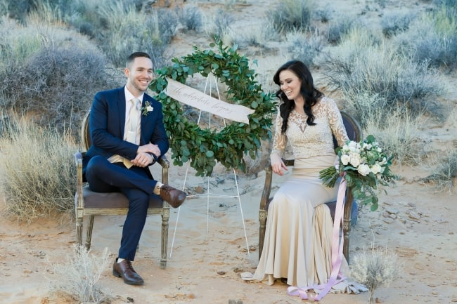 nevada desert elopement