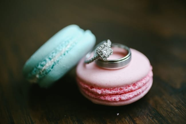 rings on macaroons