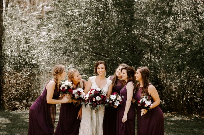 Modern Wedding at Historical Farmhouse in Georgia feature