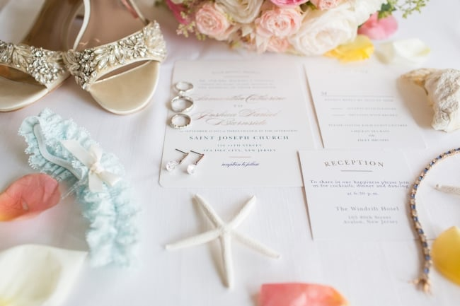 Traditional Coastal Jersey Shore wedding featured