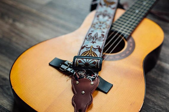 Vintage Guitar Strap – Gift for Musician