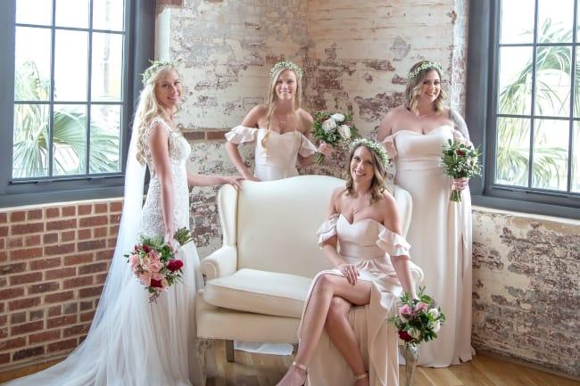 Outdoor Spring Wedding in Charleston feature